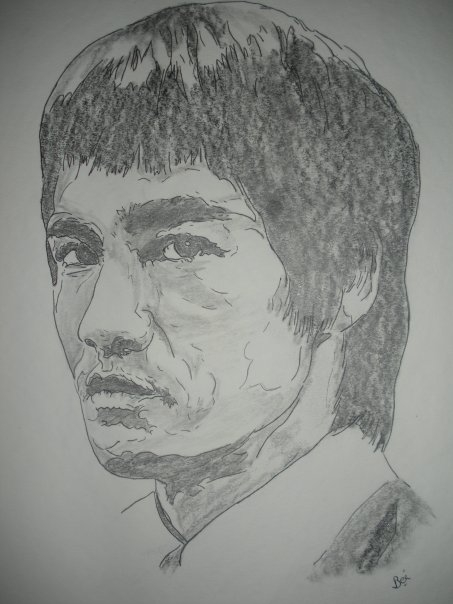 Bruce Lee por Beatriz.ch
